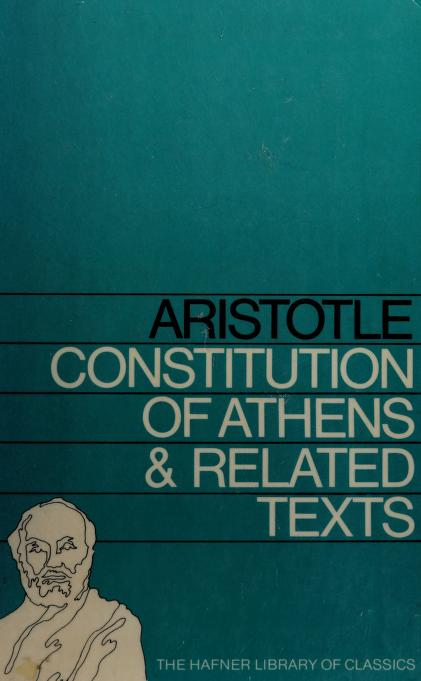 Aristotle's Constitution of Athens and related texts by Aristotle