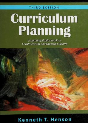 Cover of: Curriculum planning   Kenneth T. Henson