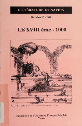 Cover of: Le XVIIIème, 1900 | Jean-Christophe Abramovici
