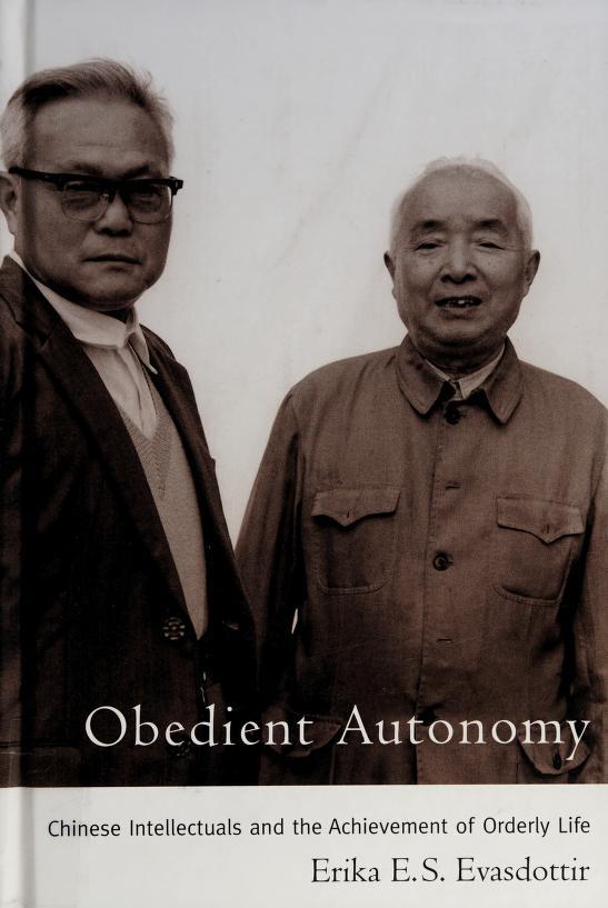 Obedient autonomy by Erika E. S. Evasdottir