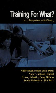 Cover of: Training for what? | André Beckerman ... [et al.].